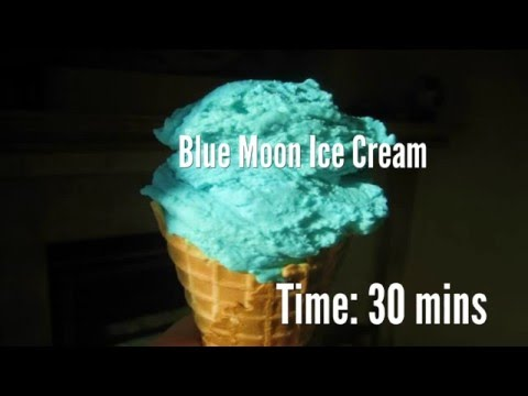 Blue Moon Ice Cream Recipe