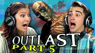 Watch OUTLAST #6: http://goo.gl/LqrxSU Watch all episodes - http://goo.gl/2Fp6Kw SUBSCRIBE TO THE REACT CHANNEL: http://goo.gl/c5TeQI Watch all episodes of OUTLAST - http://goo.gl/2Fp6Kw Watch all episodes of GAMING: http://goo.gl/TVhuol Watch all REACT channel videos from this week - http://goo.gl/th0yyt Play Outlast: http://goo.gl/vQA7ok  Watch all episodes of OUTLAST: OUTLAST: PART 1 - http://goo.gl/gTuYnK OUTLAST: PART 2 - http://goo.gl/r5o9KU OUTLAST: PART 3 - http://goo.gl/AZFEIK OUTLAST: PART 4 - http://goo.gl/S9B98a OUTLAST: PART 6 - http://goo.gl/a76oh2 OUTLAST: PART 7 - http://goo.gl/oMdrud OUTLAST: PART 8 - http://goo.gl/nEaXbN OULAST: FINALE - http://goo.gl/qBqLWZ  Follow Fine Brothers Entertainment: MAIN CHANNEL: http://www.youtube.com/FBE SECOND CHANNEL: http://www.youtube.com/FBE2 REACT CHANNEL: http://www.youtube.com/REACT FACEBOOK: http://www.facebook.com/FineBros TWITTER: http://www.twitter.com/thefinebros INSTAGRAM: http://www.instagram.com/fbe SNAPCHAT: finebros VINE: https://vine.co/TheFineBros TUMBLR: http://fbeofficial.tumblr.com GOOGLE+: http://www.google.com/+thefinebros  SEND US STUFF: Fine Brothers Entertainment  P.O. BOX 4324 Valley Village, CA 91617-4324 -------------------------- The following episode featured the following Reactors:  Adam Rae Seth Sophia Tom Tori ------------------------------------- Created by Benny & Rafi Fine (The Fine Brothers) http://www.youtube.com/TheFineBros Produced by Vincent Ieraci Production Assistant - Danny Donaldson & Patrick Dougall Post Production Supervisor - Nick Bergthold Graphics & Animation - Will Hyler Editor - Brad Hansen Assistant Editor - Rachel Lewis, Tyler Stabenau, Rebecca Wood, Michael Zisk Theme Music - Cyrus Ghahremani  © Fine Brothers Entertainment  You are prohibited from distributing this show or any React branded content in any way without express consent in any territory worldwide