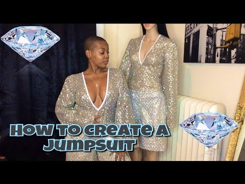 HOW TO MAKE A JUMPSUIT- Easy & Simple