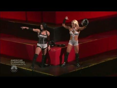 Gina Carano American Gladiators s01e01