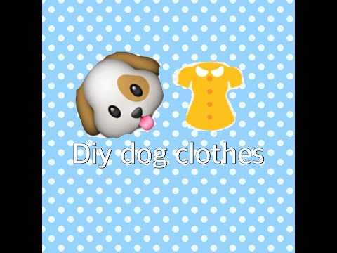 Diy Dog Clothes Out Of Baby Clothes!!!