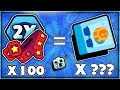 How Many Brawl Boxes With 100 Tickets + Key Doubler - Are Key Doublers Worth It mp3