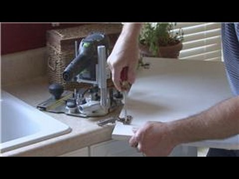 Home Improvement & Maintenance : How to Replace Kitchen Cabinet Doors