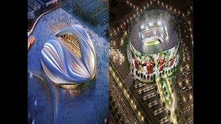 দেখুন কাতার ২০২২ বিশ্বকাপের যে দৃষ্টিনন্দন  স্টেডিয়ামগুলো বানালো যা দেখে আপনি অবাক হয়ে যাবেন