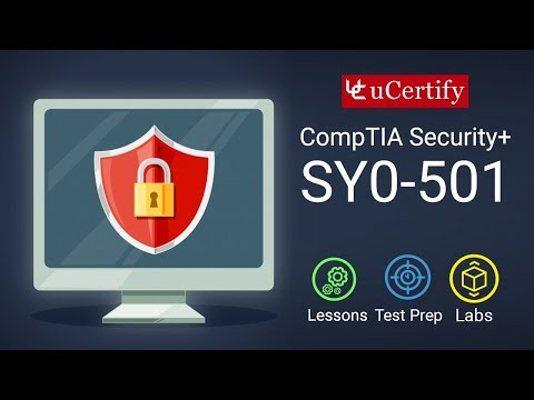 Pearson CompTIA Security+ SY0-501 Course and Labs