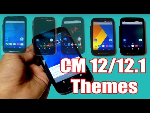 How to Install Cyanogenmod 12 / 12.1 Themes in any Android