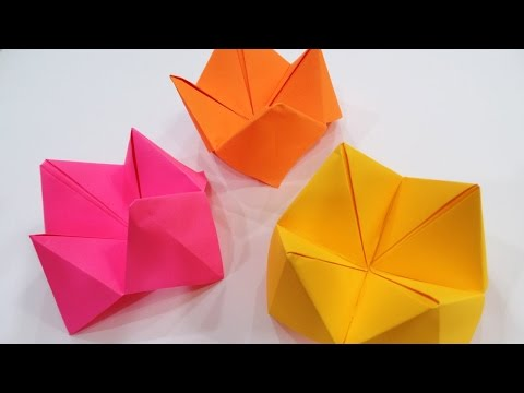 How To Make A Paper Fortune Teller | Paper Origami | Fortune Telling Game