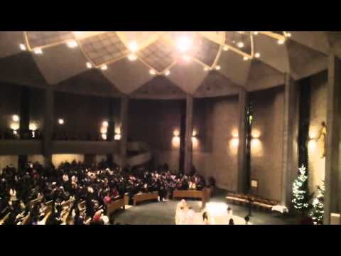 Christmas Eve Midnight Mass 16of17, 2011 St. Ignatius Church