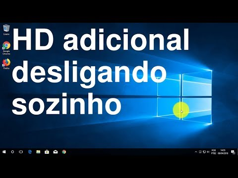 Windows 10 desligando HD adicional - Poupe a vida útil do HD do PC