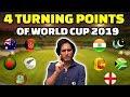 4 Turning Points Of World Cup 2019 Ramiz Speaks