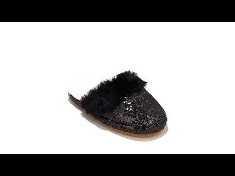 8b98ba62243 A by Adrienne Landau Knit Wrap with Faux Fur Pompoms - Fur Lined ...