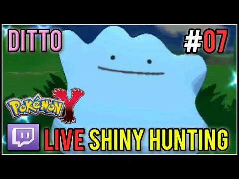 [Live] Shiny Ditto at 62 Encounters | Live Shiny Hunt #07 | Pokemon X/Y