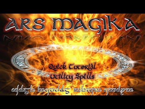 Quick Tutorial - Ars Magika 2 - Utilities Spells
