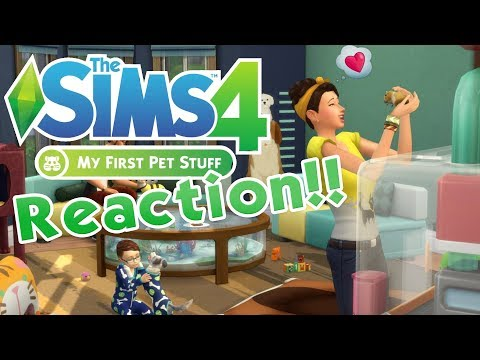 Hamsters! Hedgehogs! And... Purple Platypus-Sheep?! 🐹 Sims 4 My First Pet Stuff Trailer Reaction 🐹