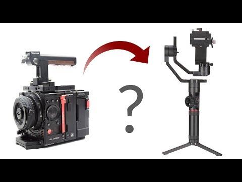 Can you fit Kinefinity Terra 4K camera on Zhiyun Crane 2 Gimbal?