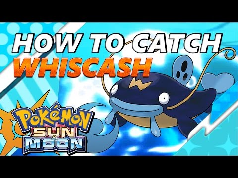 Pokémon Sun and Moon: How to Catch & Find Whiscash  - S.O.S. Catching
