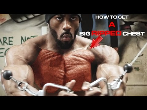 Chest workout for size, cuts, striations and aesthetics