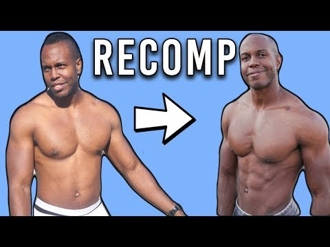 How To Build Muscle And Lose Fat At The Same Time   Recomp Effect