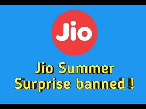 Jio summer surprise offer banned by TRAI | Recharge today