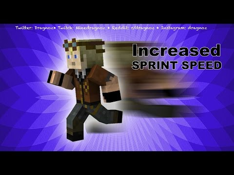 How to Increase players sprint speed
