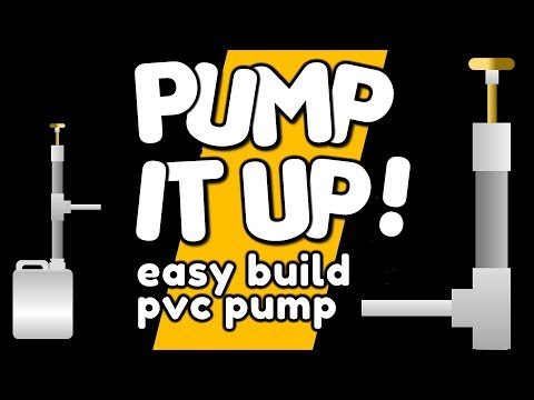 Make A PVC Pump with a PING PONG BALL - by VegOilGuy