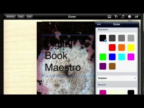 Book Creator for iPad Part 1