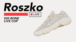 🔴 Live Cop: Yeezy 500 Bone White