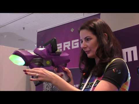 MERGE 6DoF BLASTER - Handheld VR - Jump, Duck and BLAST!
