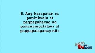 ESP 9 Modyul 1: Layunin ng Lipunan: Kabutihang Panlahat