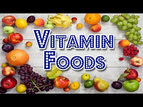 Best Foods for Vitamins A to K Nutrition Diet sources   13 vitamins your body needs