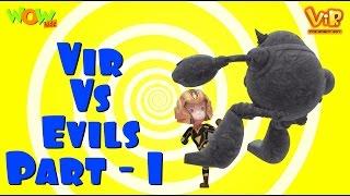 Vir The Robot Boy | Hindi Cartoon For Kids | Vir vs evils | Animated Series| Wow Kidz