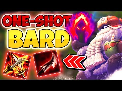 ONE-SHOT BARD OP - Funny Moments #45 League Of Legends