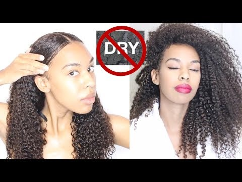 How To Keep DRY Natural Hair Moisturized at all times!- 7 TIPS That ACTUALLY WORK!