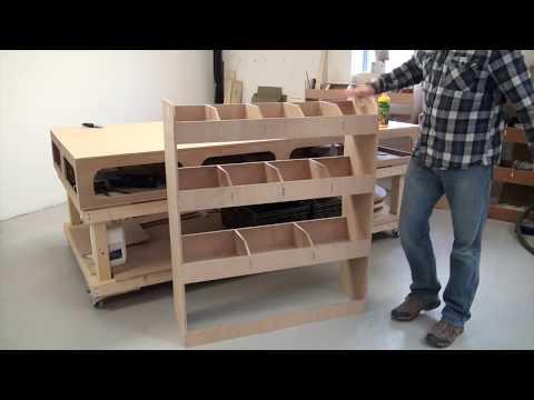 Vanify Van Racking Build