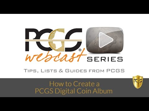 PCGS Digital Coin Albums - How to Get Started