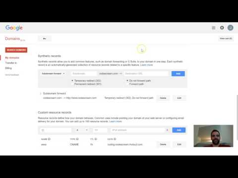Pointing Google Domains to Heroku/Openshift/etc. (CName/more)