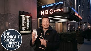 Download Jimmy Kicks Off a Tonight Show Episode Shot Entirely on the Samsung Galaxy S10+ Phone Video