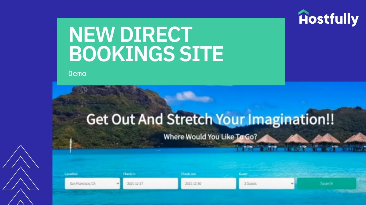 Direct Bookings Site for Vacation Rental Managers and Owners