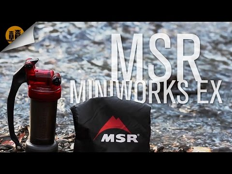 MSR Miniworks EX | Backpacking Water Filter | Field Review