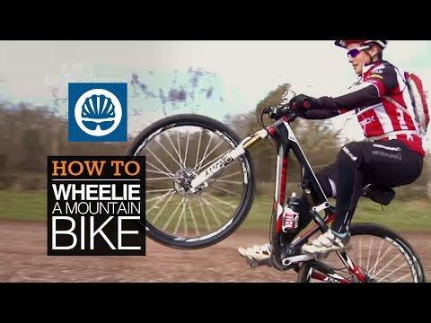 How to wheelie a mountain bike  - with Tracy Moseley