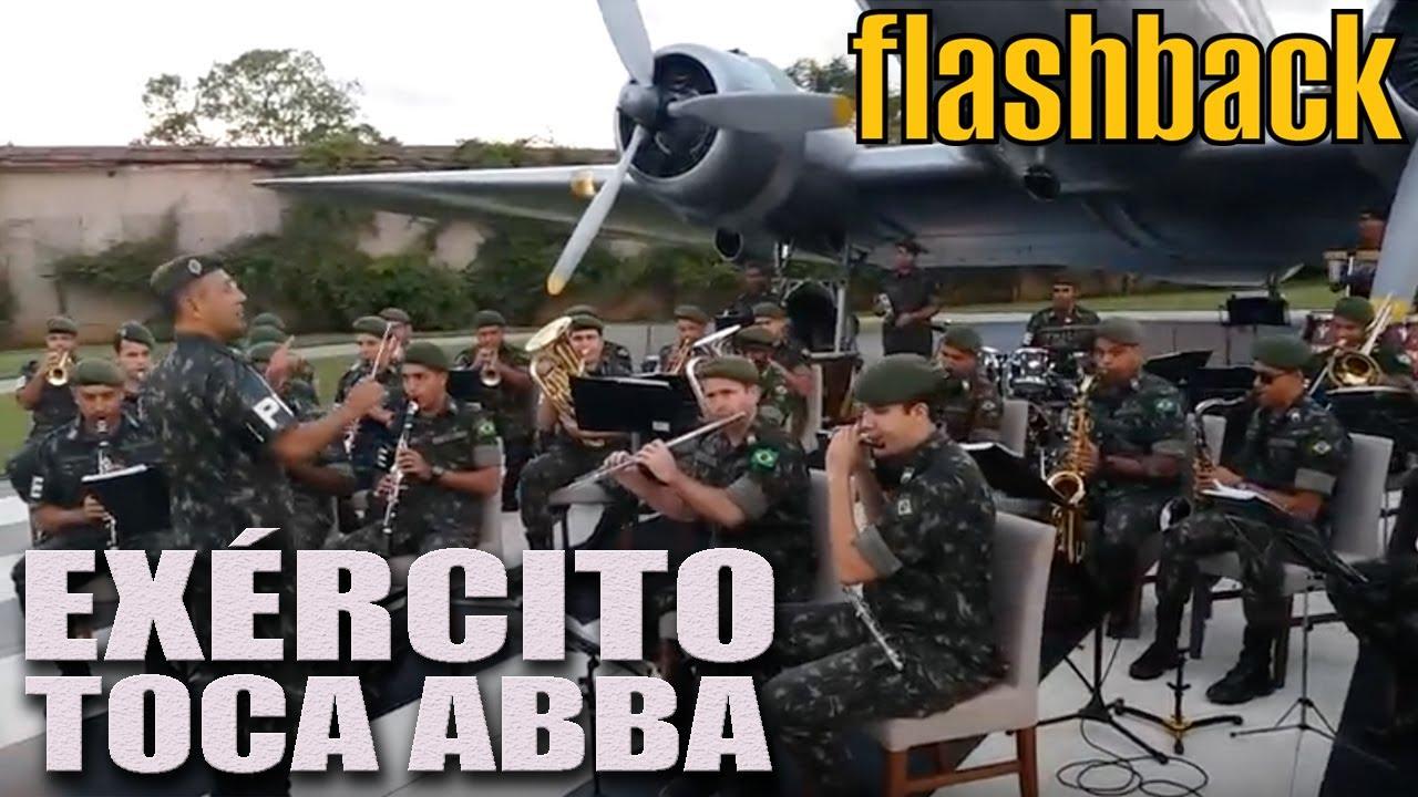 EXÉRCITO TOCA ABBA! Canal Flashback, com Carlos Bighetti