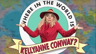 SNL jokes about Kellyanne Conway's disappearance