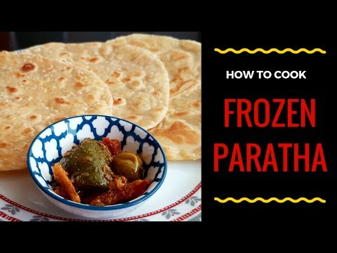 How to cook frozen paratha   فروزن پراٹھا پکانے کا طریقہ - Cook with Huda