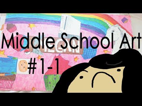 Old Art: Middle School Portfolio #1-1 (2012-2013)