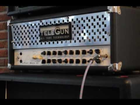 Telegun Fatboy II boutique guitar amp Part 1/2