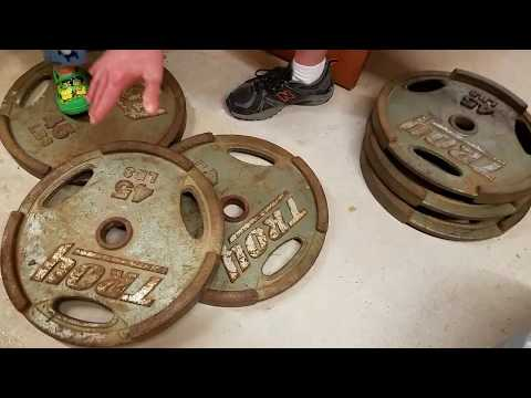 How To Clean & Restore Rusty Weights