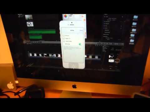 como funciona AirPlay en iOS 7 , como activar AirPlay con iPhone, IPad,IPod