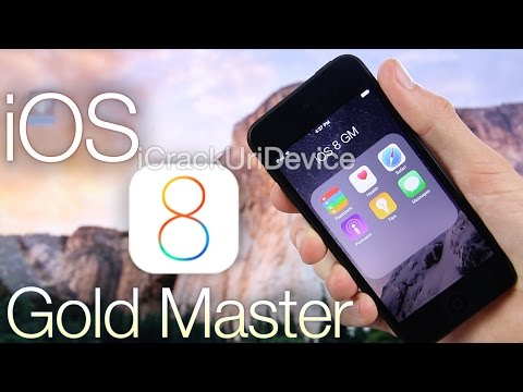 NEW Install iOS 8 GM Early FREE How To Gold Master Without UDID iPhone 5S,5C 4s & iPod Touch 5