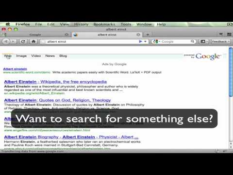 InstantFirefox - Instant Google for Firefox Address Bar