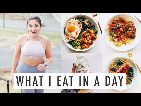 What I Eat In a Day | Healthy + Easy! Including a Breakfast Salad